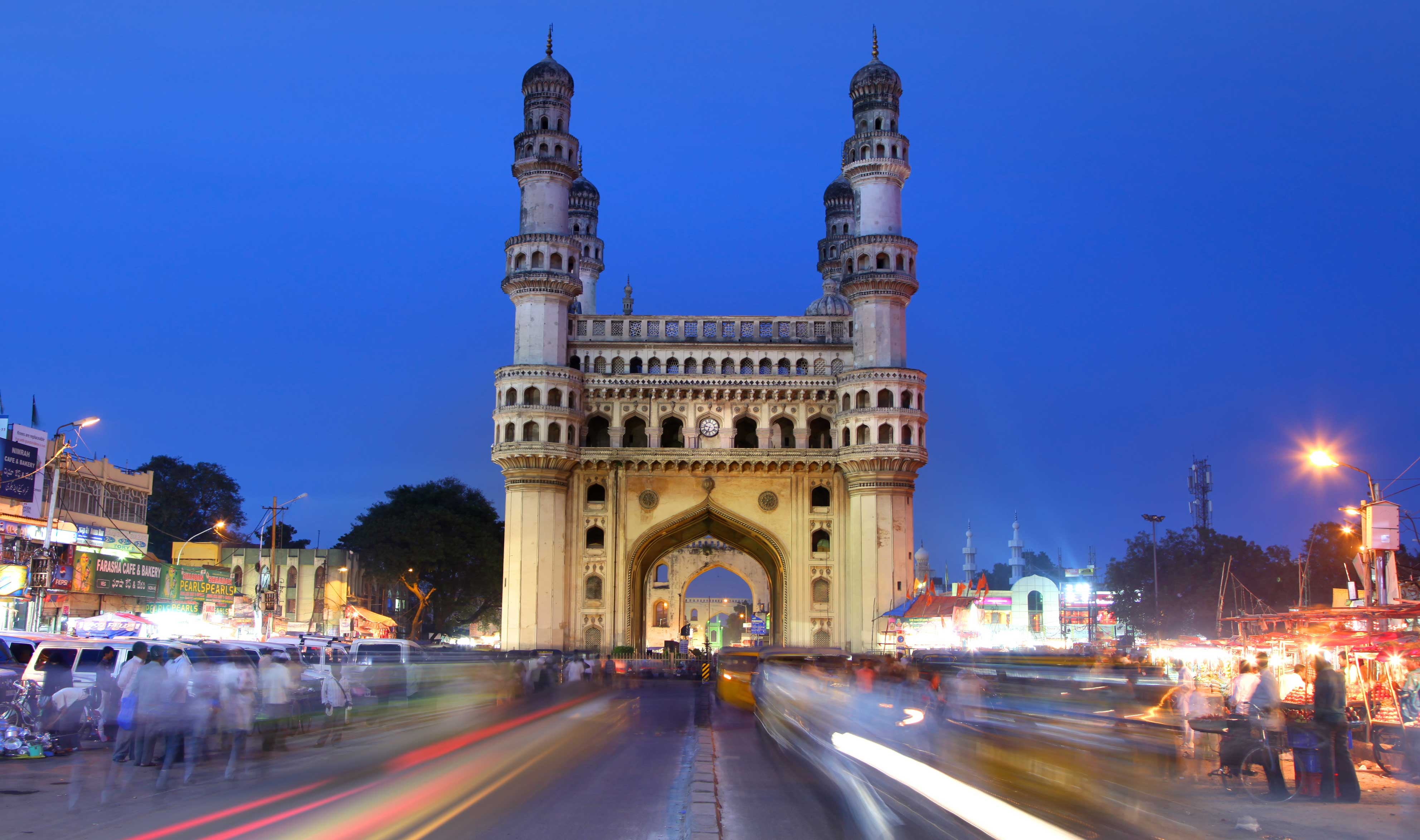 Private Full day Hyderabad City Tour with Charminar Golkonda Fort Mosque and Museum