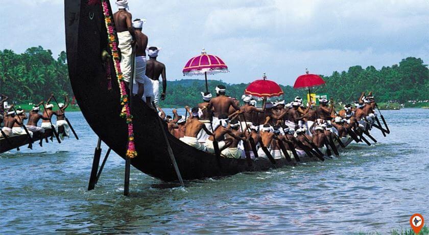 boat ride in kerala