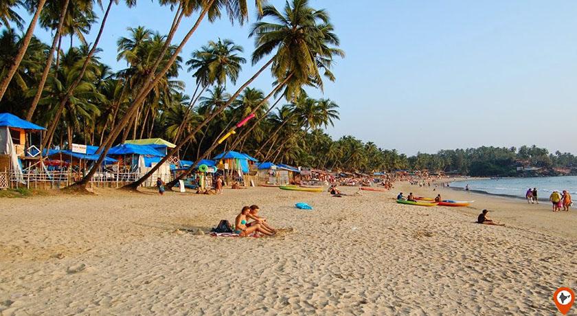 goa beach in summer