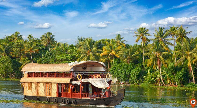 kerala houseboat travel