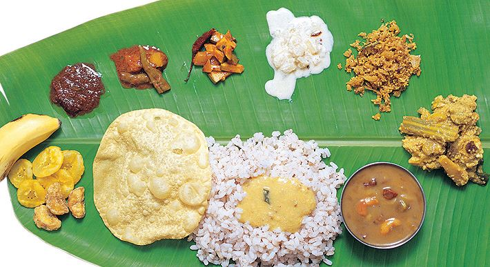 Most savory food destinations in india gateways in india for Authentic kerala cuisine