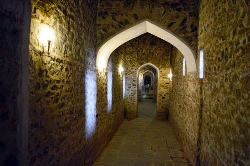 Tunnel of Amer Fort