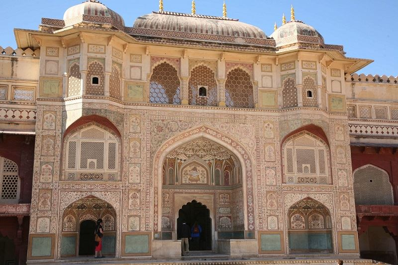 sheesh mahal architecture