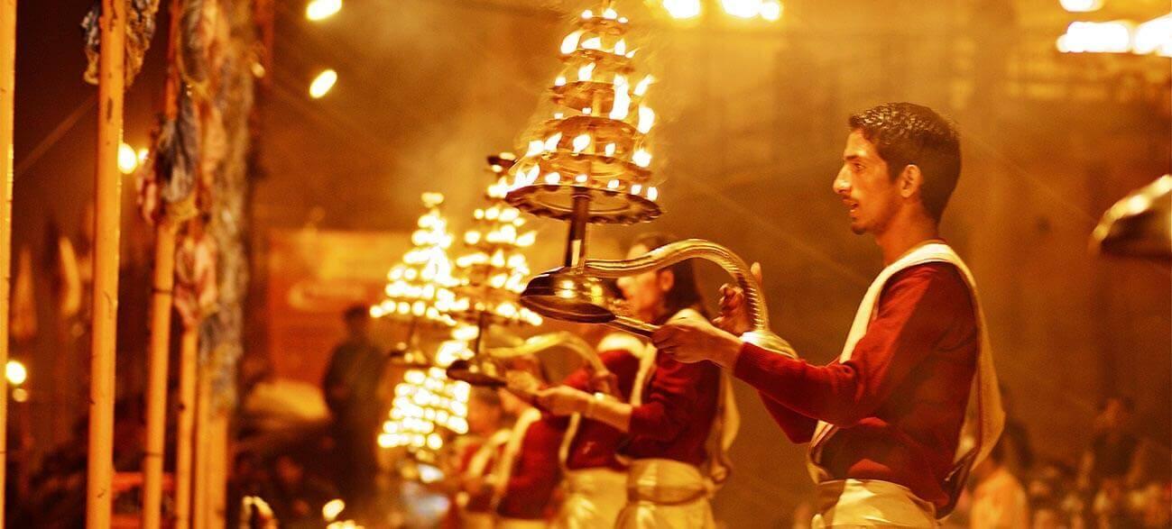 Varanasi Ganga Aarti Ceremony