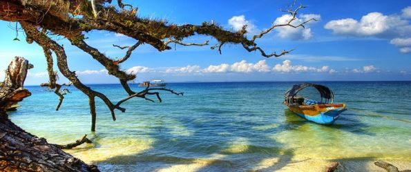 The Andaman Islands