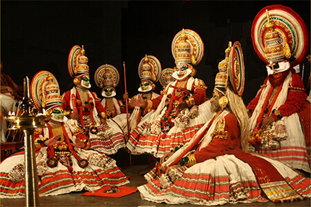 Art & Culture of Kerala indiator