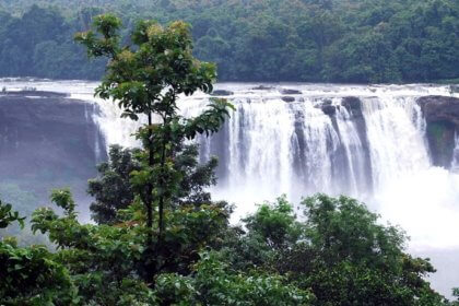 Athirapally waterfalls Thrissur Kerala