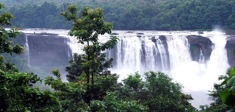 Athirapally waterfalls Thrissur Kerala