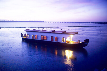 Backwater & Houseboat tour of Kerala indiator