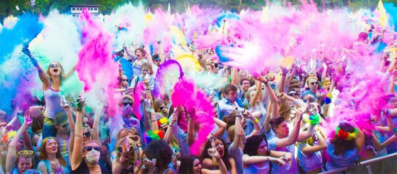 Celebrate Holi Festival in India