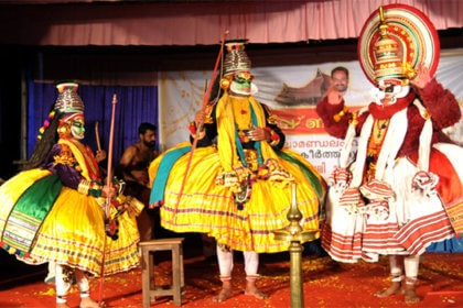 Top Places to watch Kathakali in Kerala