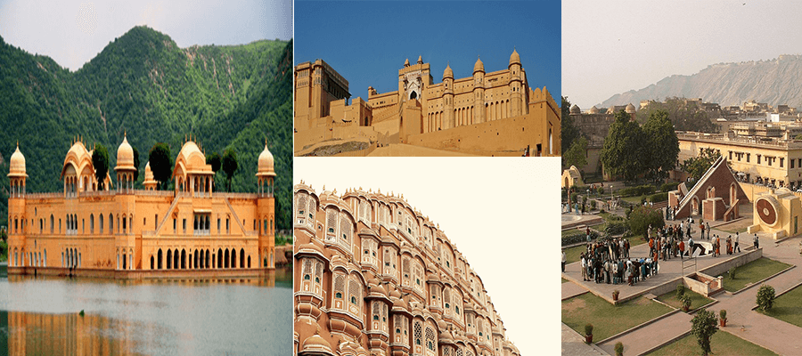 Image result for Admire the architectural beauty of different monuments in jaipur