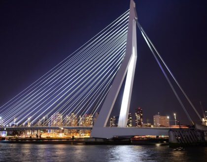 Feed Your Eyes with The 1st Asymmetrical Bridge In India - The Signature Bridge