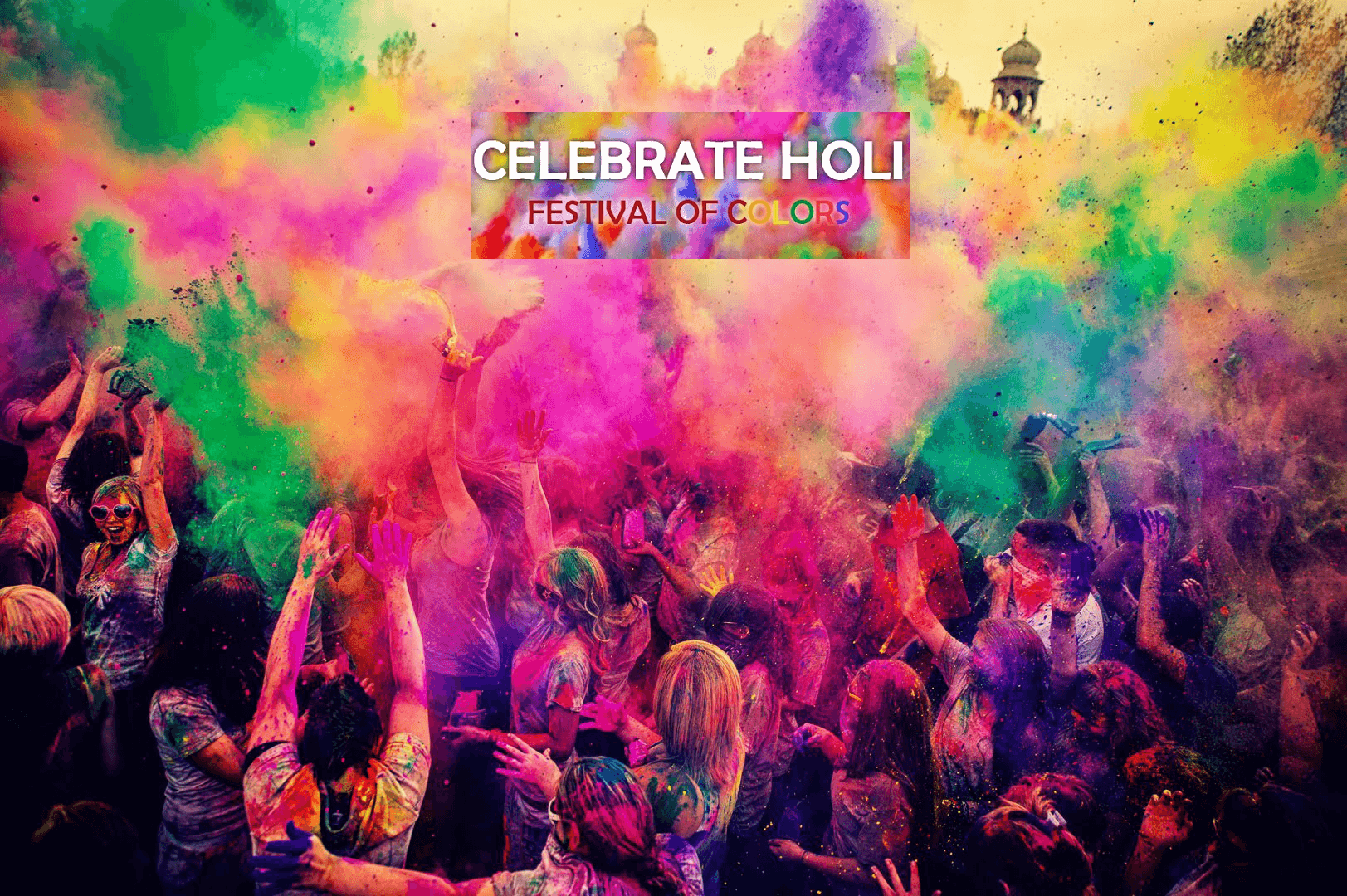 Colors Of Holi At Different Parts Of India