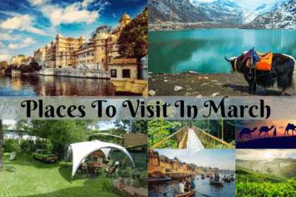 Destinations to visit in March