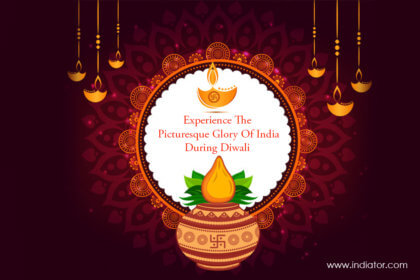 Picturesque Glory Of India During Diwali
