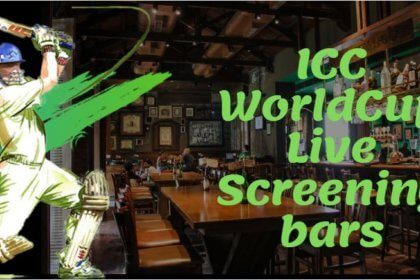 CricBuzz in the country-: Best Bars and Pubs for ICC World Cup