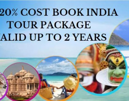 Enticing India tour: Exclusive Package With 2 Year Validity
