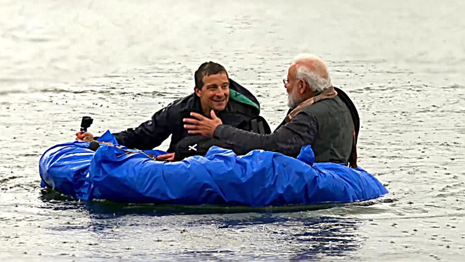 Modi to feature in Discovery's 'Man vs Wild -indiator