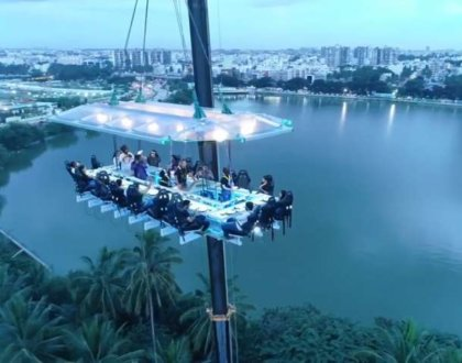 Sky-Dining comes to Noida