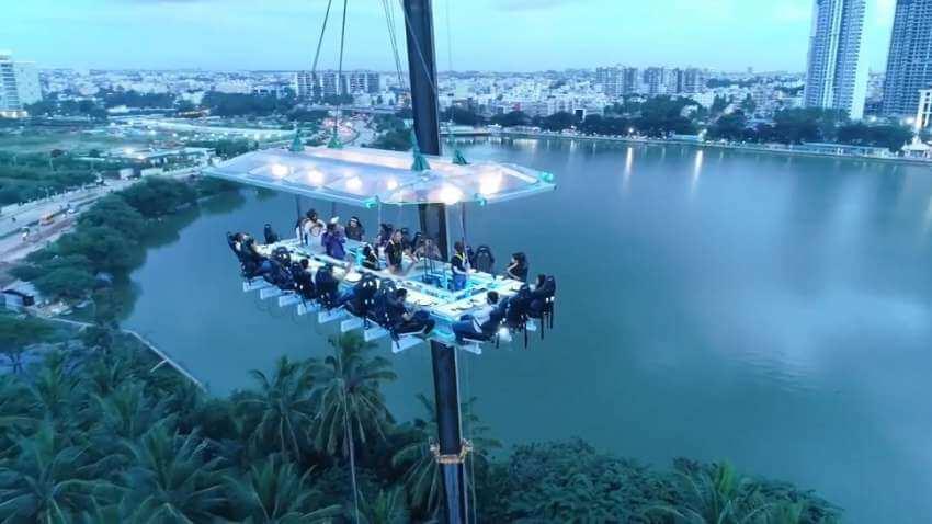 Sky-Dining comes to Noida
