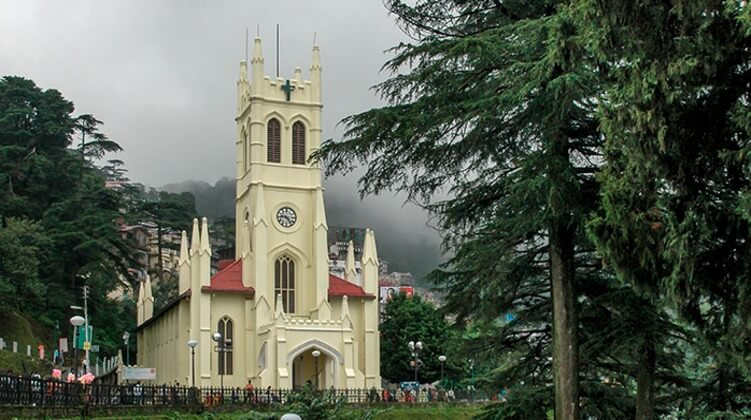 Charismatic Christ Church in Shimla - indiator