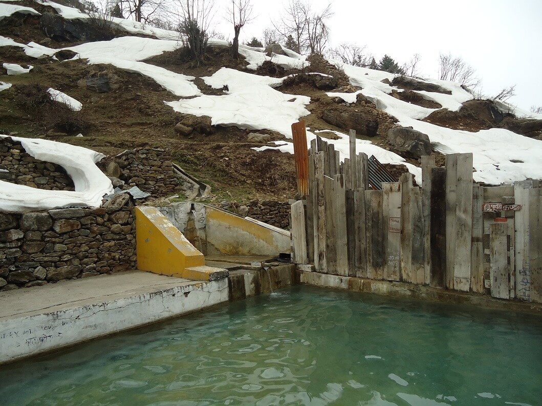 Hot Water Spring in Tattapani