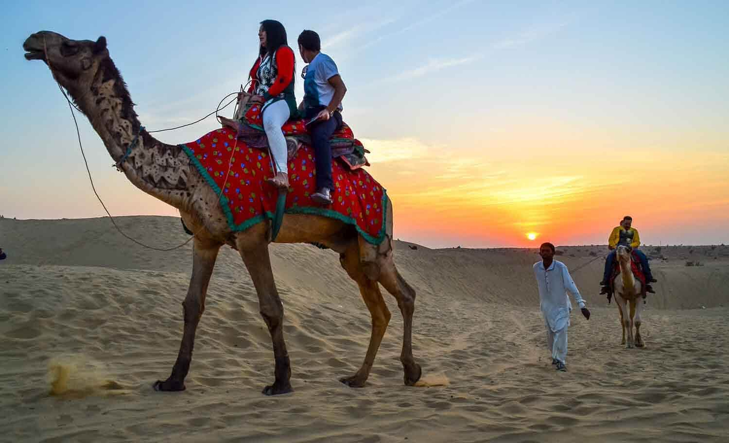 Rajasthan: Riding Through The Sands Of Time