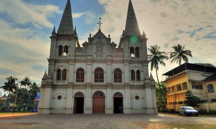Revered St. Francis Church in Kochi - indiator
