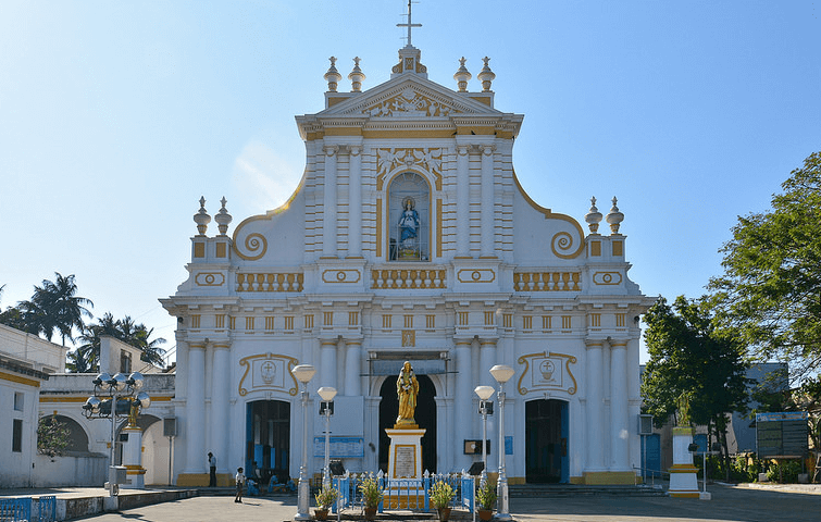 Sightly Immaculate Conception Cathedral in Puducherry - indiator