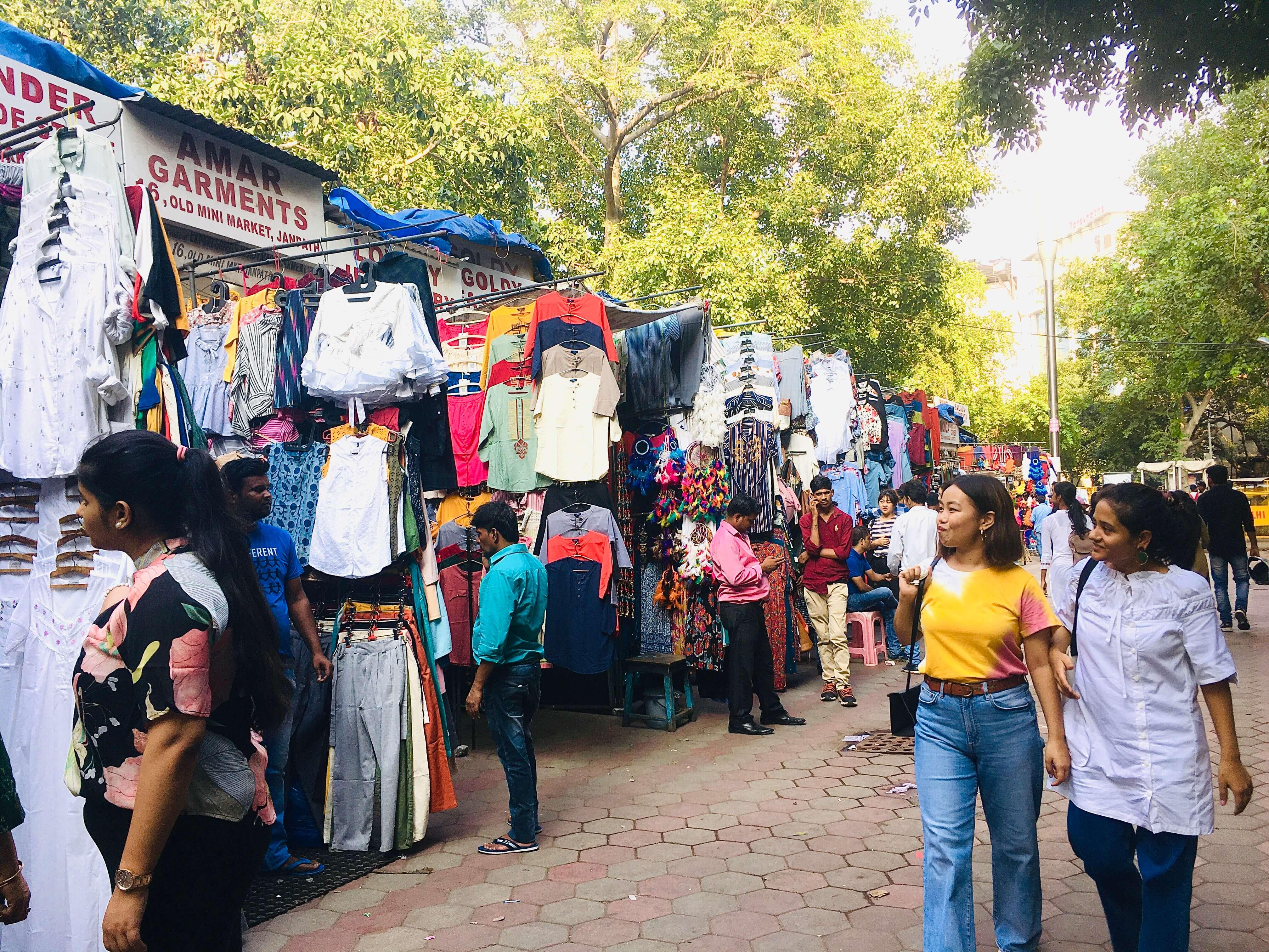 Janpath Market tour