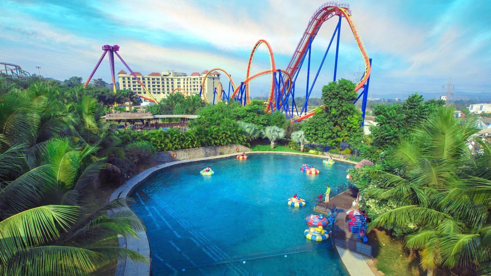 1) Imagica Theme Park, Mumbai
