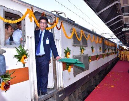 Kashi Mahakal Express- a Luxury Train Joining UP to MP