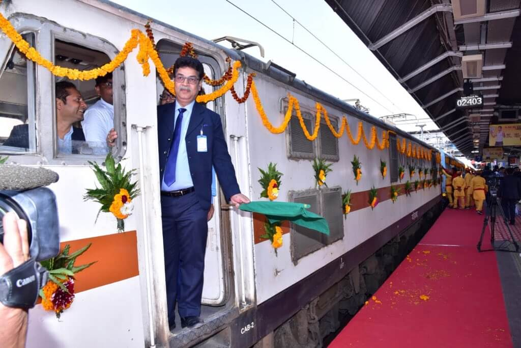Kashi Mahakal Express- a Luxury Train Joining UP to MP